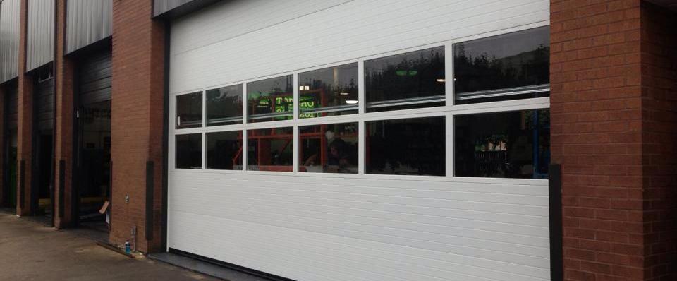 Auto Shop Garage Door