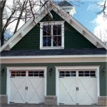White Carriage Garage Doors