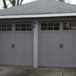 Beige Garage Doors