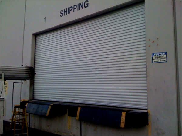 Shipping Roll Up Door