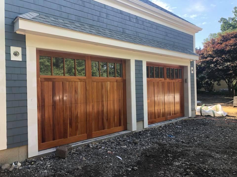 Wooden Style Garage Doors