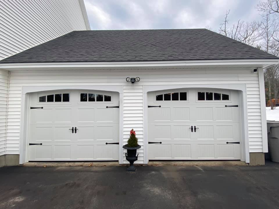 Garage Door on Residential Home